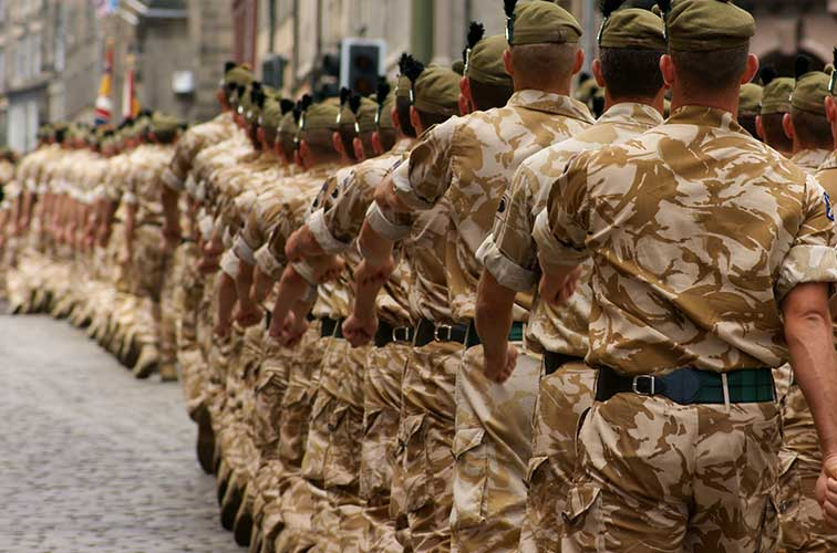 Chiropractic care for war veterans